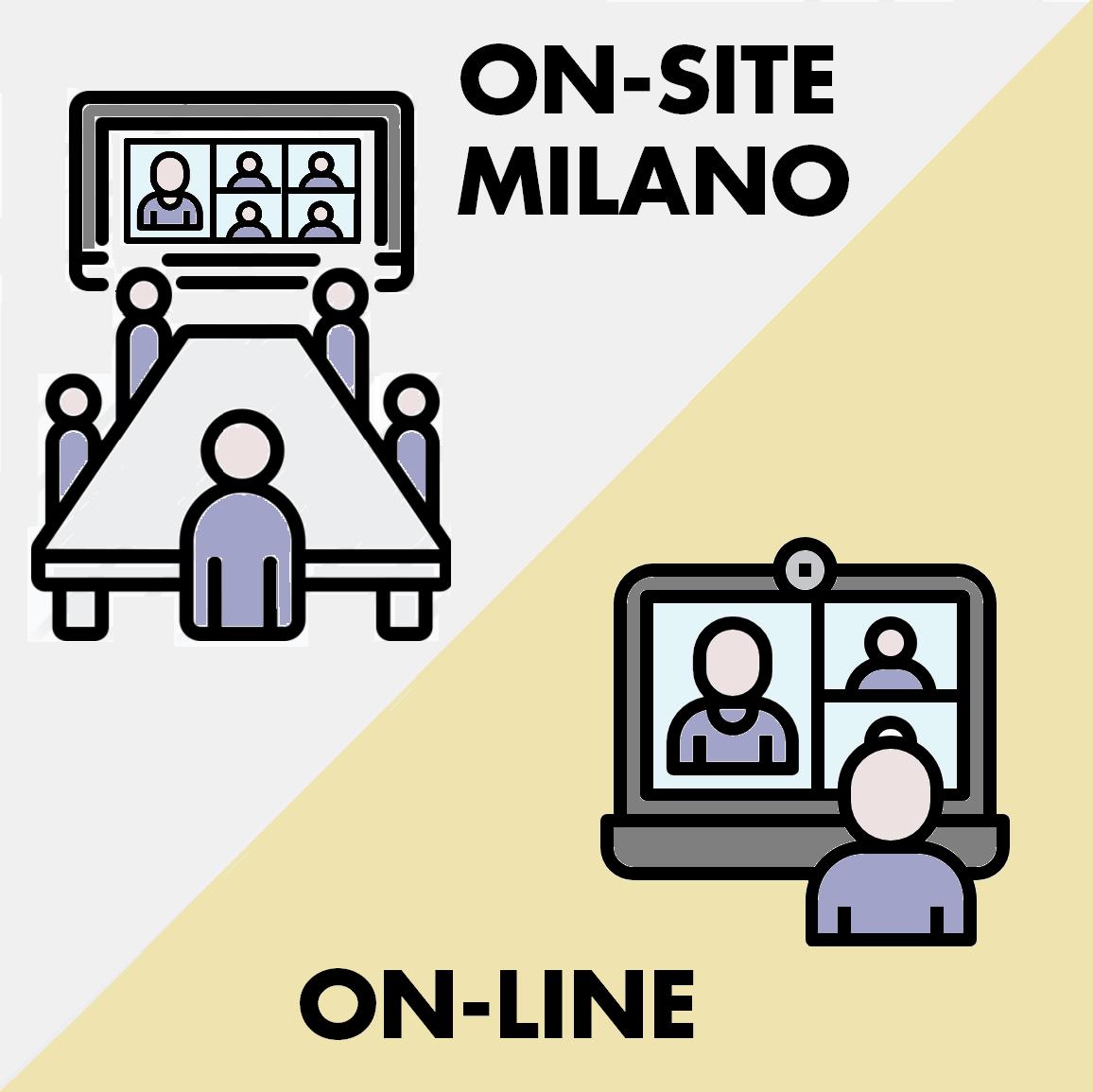 Milano + On-line